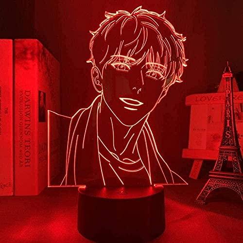 Optisk illusion 3D-lampa LED nattlampa med Alex bord skrivbord dekor rum heminredning jul för baby tonåringar vänner födelsedag julklapp