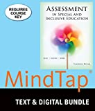 Bundle: Assessment in Special and Inclusive Education, Loose-leaf Version, 13th + MindTap Education, 1 term (6 months) Printed Access Card