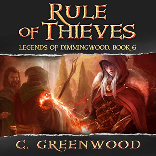 Rule of Thieves audiobook cover art