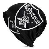 Photo de Hdadwy Body Count Fashion Stretchy Knit Cap Hedging Cap Casquette décontractée pour Hommes Femmes Bonnet Noir, Chapeau Chaud