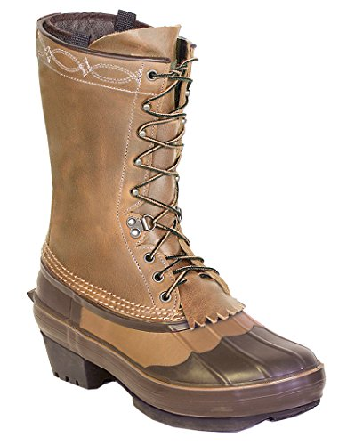 Kenetrek Cowgirl Insulated Pac Boot, 8 Medium Brown