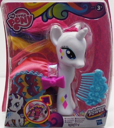Hasbro Mon Petit Poney Poney de mode, arc-en-puissance
