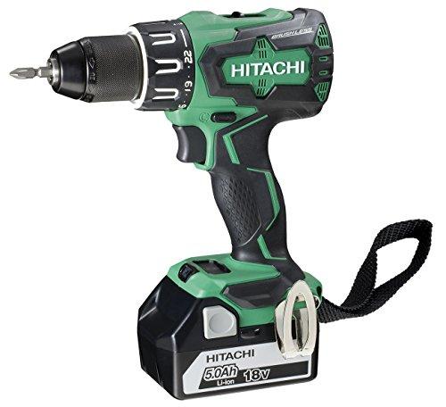 Hitachi 93256876–Bohrschrauber Brushless 18V 5.0Ah Stackable 70nw dv18dbsl