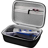 COMECASE Storage & Protective Case Compatible with Dremel 7300-PT 4.8V Cordless Rotary Tool Dog Nail Grinder, Pet Nail Grooming Trimmer Bag Box with Accessories Mesh Pocket.
