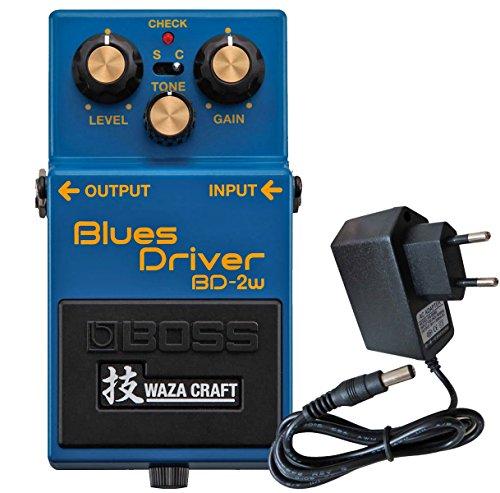 Boss BD-2W Blues Driver Waza Craft Edition + keepdrum Netzteil 9V