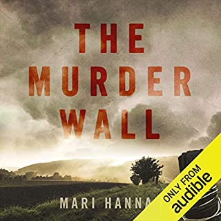 The Murder Wall audiobook cover art