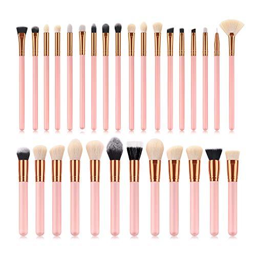 Make Up Brush Set Haut de gamme multifonctions de 30 pièces pinceau de maquillage Set, pinceau poudre, fard à paupières Pinceau, Forme Fan