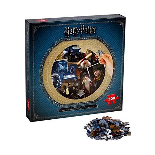 Winning Moves Puzzle 500 Piezas Harry Potter y la Piedra Filosofal, Multicolor (002480)