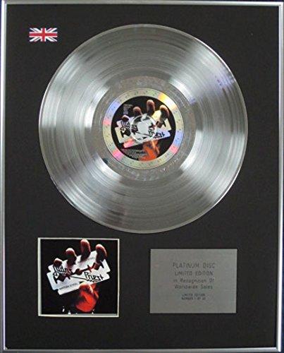 JUDAS PRIEST - Edición limitada CD Platinum Disc - acero británico