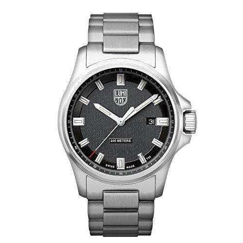 Luminox Dress Field XL.1832 Reloj de pulsera Cuarzo Hombre correa de Acero inoxidable Plateado