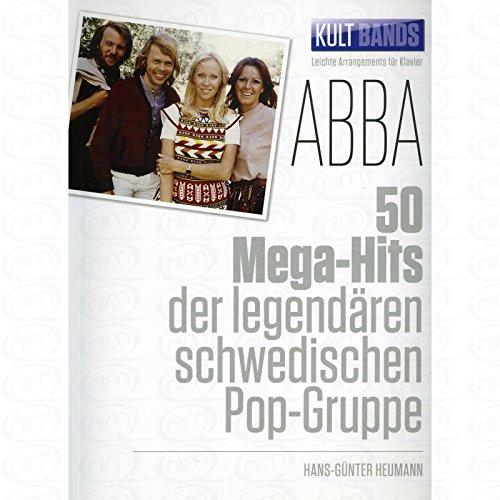 50 Mega Hits der legendaeren schwedischen Pop Gruppe - arrangiert für Klavier [Noten/Sheetmusic] Komponist : ABBA