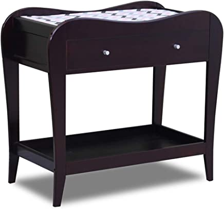 GUO  American Diaper Crib Changing Table Storage Shelf Newborn Touch Nursing Bathing Station Changing Pad Covers