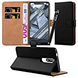 iCatchy For Nokia 5.1 Case, Leather Wallet Flip Book Stand