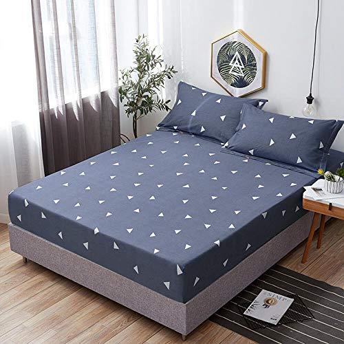 Llxxx Sheet-katoenen lakens eendelig Simmons beschermhoesje dekbed matrasovertrek eenpersoonsbed antislip folie