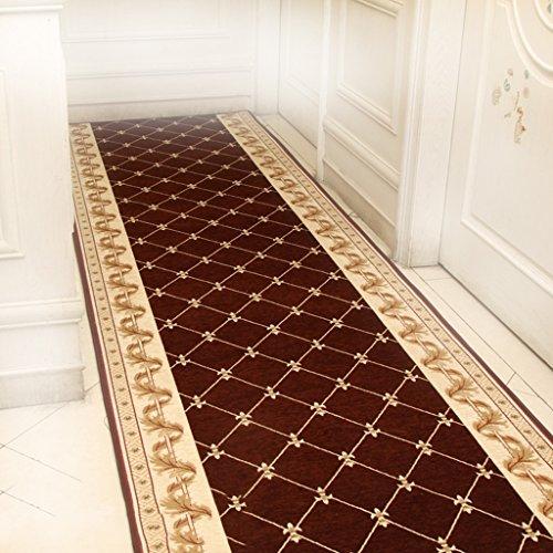 CarPET Blended gang gangpad trap Stap mat Huishoudelijke ingang keuken Deurmat (Kleur : 2, Maat : 120cm breed (10m lang))