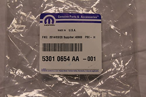 Mopar 5301 0654AA, Engine Oil Filler Cap