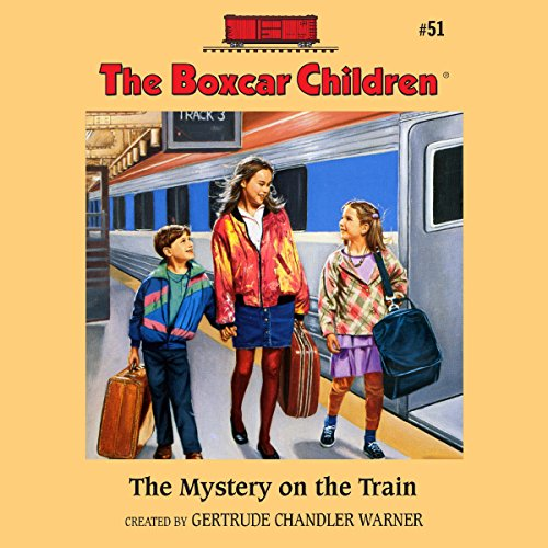 The Mystery on the Train audiobook cover art