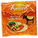 Amaizin - Tortilla Wraps Orgánicas - 240g