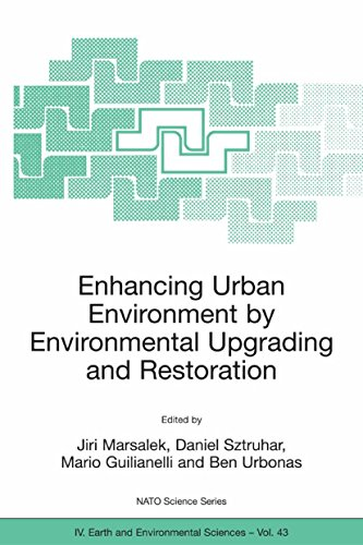 Enhancing Urban Environment by Environmental Upgrading and Restoration: Proceedings of the NATO Adva