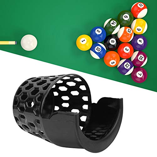 Ruiqas 6 Stks Plastic Biljart Mand Praktische Snooker Mand Thuis Entertainment Biljart Ball Opslag Pocket Pool Tafel Accessoires(16CM)