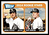 2014 Topps # 41 White Sox Rookies Andre Rienzo/Erik Johnson Chicago White Sox (Baseball Card) NM/MT White Sox. rookie card picture