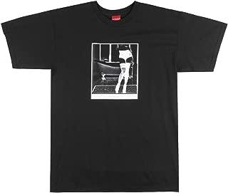 V/SUAL Madame T-Shirt Mens Visual Van Styles PIN-UP Model Photography TEE Black