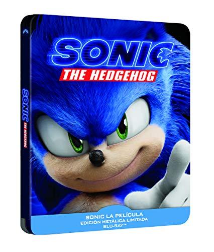 Sonic: La Pelicula - Edición Especial Metálica (BD) [Blu-ray]
