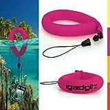 igadgitz 1 Pack Neon Pink Wasserfestes Schwimmende Handschlaufe Armband Geeignet für Unterwasser / Wasserdicht : Kameras, Videokameras, Tasche & Gehäuse, Marine-Fernglas + Wasserdicht Sony Handys