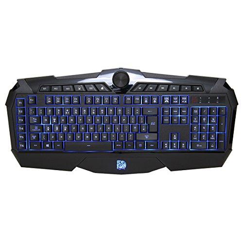 Tt eSPORTS Challenger Prime-US Tastatur (US-Layout) schwarz