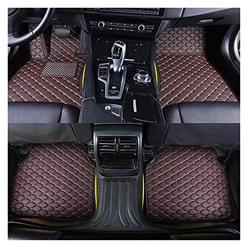 WANGYOU Mats del piso de los automóviles Ajuste para Citroen C5 2016 2015 2014 2012 2012 2012 2012 2012 2010 Accesorios de alfombras interiores Cojines personalizados Pastillas de almohadillas Protege