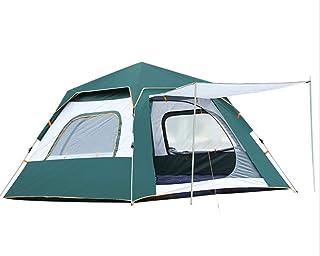 YDD Camping automatisk vattentät tält utomhus 3-4 personer tjock anti-stormtält självgående bärbar hem vild tältpark campi...