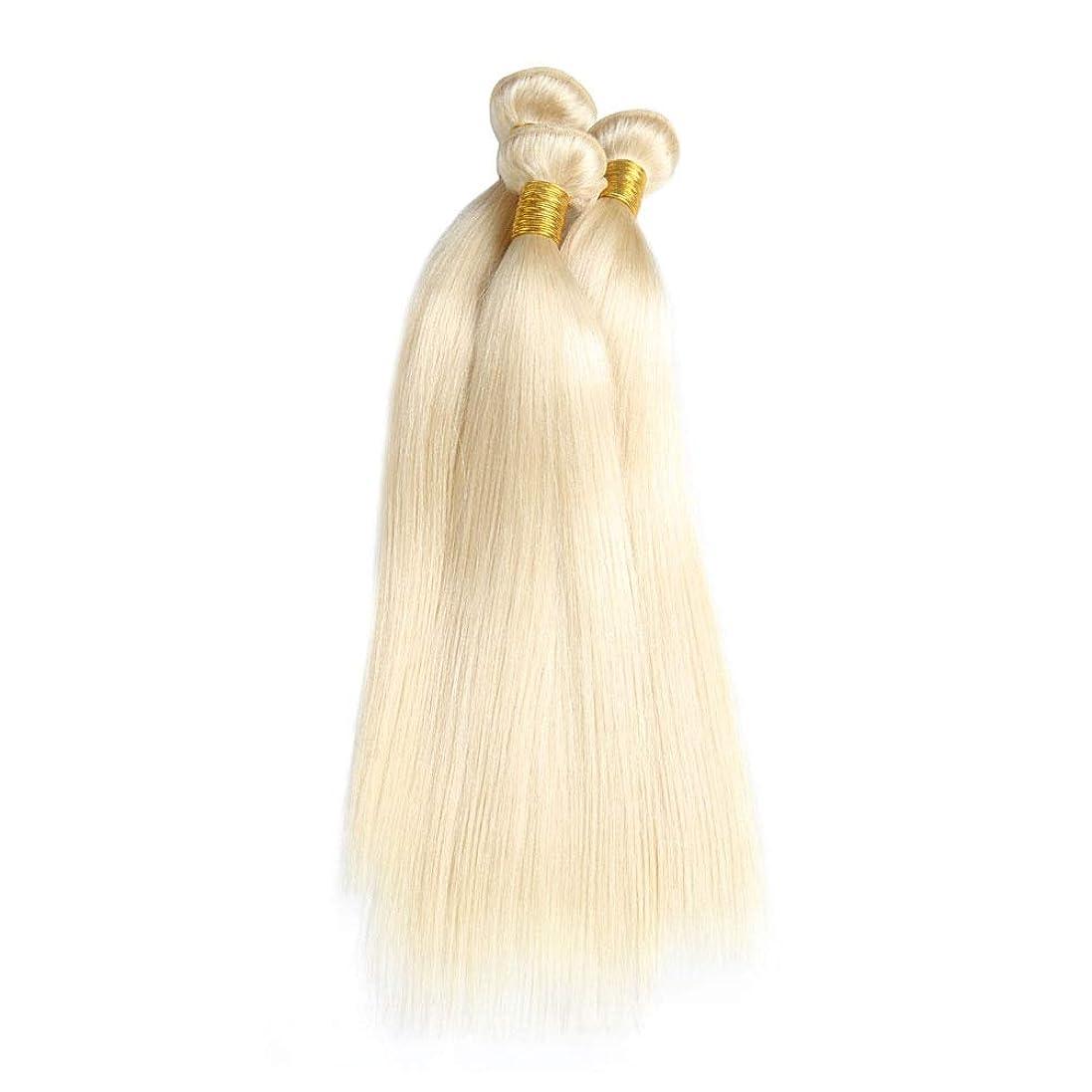 いろいろシャーク軽SRY-Wigファッション ファッションライトブロンドレースフロントウィッグロングストレートプラチナブロンド合成ウィッグ女性用ハーフハンド結んだ波状ウィッグ22インチ (Color : 白, Size : 8inch)