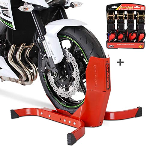 Front Paddock Stand ConStands Aprilia Caponord 1200// Rally Mana 850// GT RS 125//250 Dorsoduro 750//900// 1200 Mille RSV4// FR//RR//Factory black RSV Mille// 1000 R