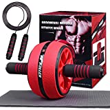 Jungle Ab Roller Wheel Workout Equipment - Ab Roller Wheel for Abdominal Exercise,Home Workout...