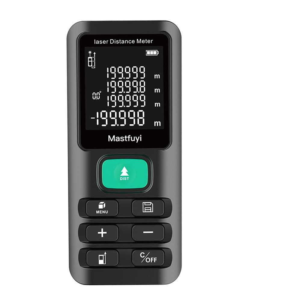 Medidor de distancia láser digital de 70 m/120 m, telémetro láser infrarrojo de mano de alta precisión 115 * 50 * 25 mm(Año fiscal 897)