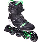 K2 Rollers VO2 90 Boa M pour Homme Noir/Vert Taille 42,5