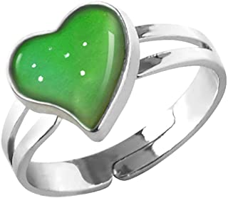 Mood Ring Color Rings Adjustable Size The Decorations