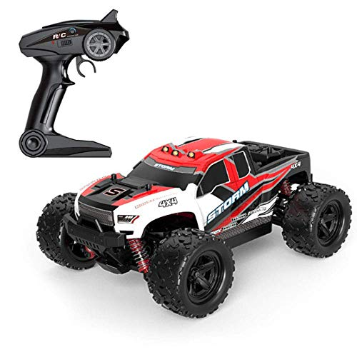 woyaochudan High-Speed Racing Off-Road Remote Control Car Toy Fast Rc Mountain Bike Remote Control Children Toy Controlled Car Vehicle Toy Gift for Kids Adults