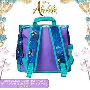 51yRSseeOJL. SS300  - Mochila Disney Girls | Bolso De Aladdin, Sigue A Tu Propio Corazón con La Princesa Jasmin | con Lentejuelas Y Diseño…