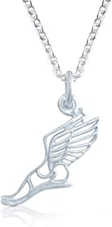winged foot necklace