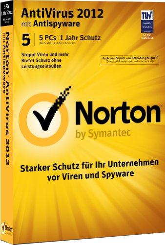 Norton AntiVirus 2012 - 5 PCs [import allemand]