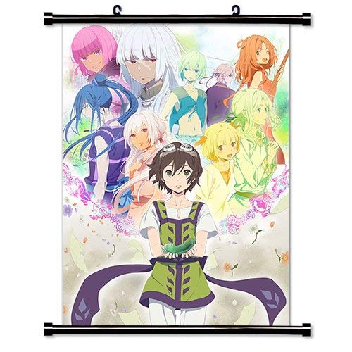 Daaint baby Children of The Whales (Kujira no Kora WA Sajou ni Utau) Anime Fabric Wall Scroll Poster (16x23) Inches