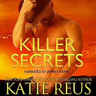 Killer Secrets                   By:                                                                                                                                 Katie Reus                               Narrated by:                                                                                                                                 Jeffrey Kafer                      Length: 2 hrs and 31 mins     50 ratings     Overall 4.4