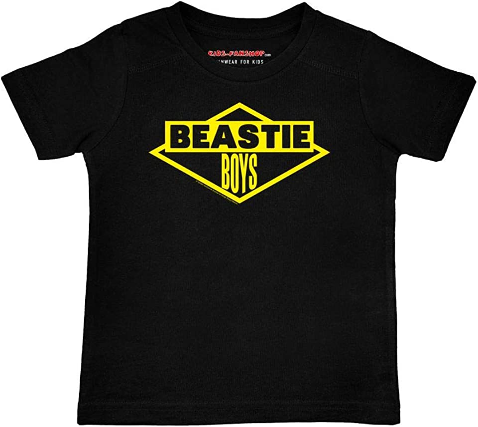 Beastie Boys (Logo) Children's T-Shirt, Black, Sizes 2 to 164 (2 to 14 Years), Official Band Merch by Kids-Fanshop