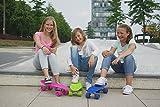 HUDORA Unisex – Kinder Retro Skateboard, himmelblau - 2