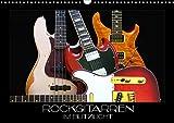 Rockgitarren im Blitzlicht (Wandkalender 2021 DIN A3 quer)