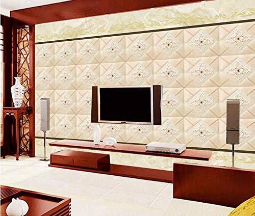 Wandbild-Tapete Foto-Vlies-Europäische Soft Pack Parkett Wandbild 400cmx280cm (157,4x110,2 Zoll) Oster-Tapete-dekorative Malerei-Aufkleber-benutzerdefinierte Tapete