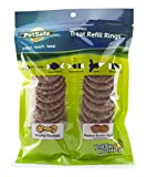 PetSafe Dog Treat Ring Variety Pack for Busy Buddy Toys – 2 Tasty Flavors – 24 Refills – Medium