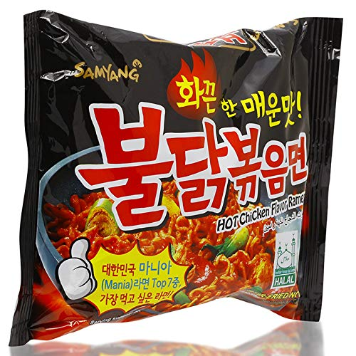 Samyang Ramen/ Spicy Chicken Roasted Noodles 140g(Pack of 5)