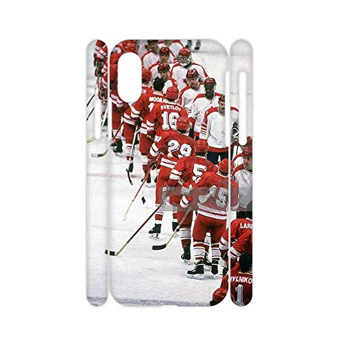 Difference Girls Phone Shell Hard Pc Compatible with iPhone X XS Printing Hockey 6 Choose Design 138-5
